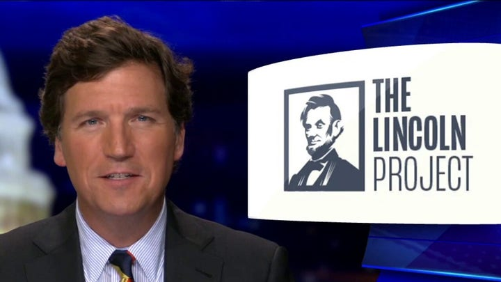 Tucker: Why the media protected the 'creepy' Lincoln Project