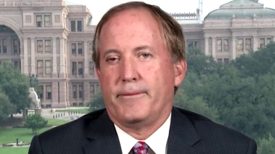 Ken Paxton reacts to Texas Gov. fighting calls to defund police