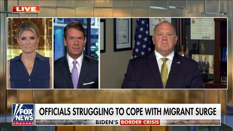 Homan: Biden admin urging Americans to wear masks yet leaving border 'wide open'