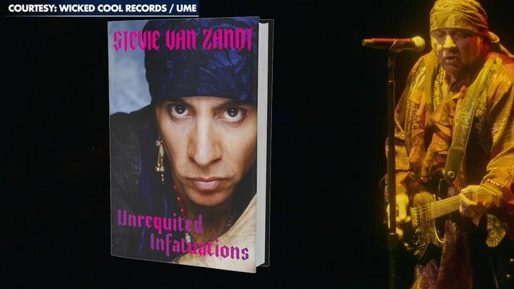 Stevie Van Zandt opens up about his new memoir