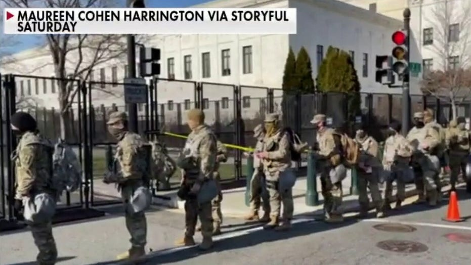 FBI vetting 25,000 National Guard troops over fears of insider attack on Inauguration Day