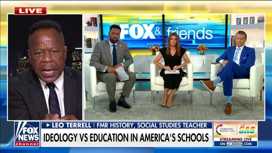 Former educator Leo Terrell slams critical race theory, says 'school choice is the only way to go'