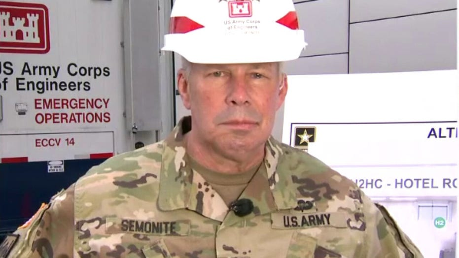 U.S. Army Corps of Engineers mobilizing to convert hotels, dorms into hospitals