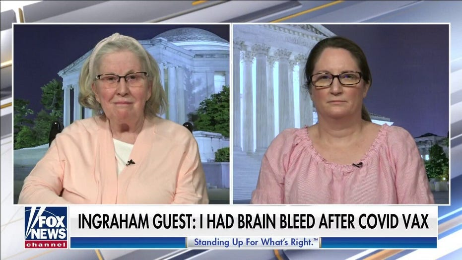 Virginia woman recounts 'massive brain bleed' from COVID vaccine, as Fauci tells hesitant folks 'Get over it'
