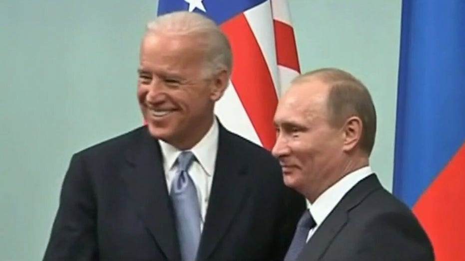 Biden admin reviewing Russia policy, citing threat to democracy