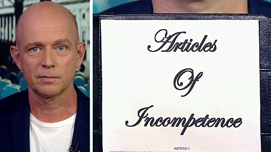 Steve Hilton presents the 'Articles of Incompetence' against Nancy Pelosi