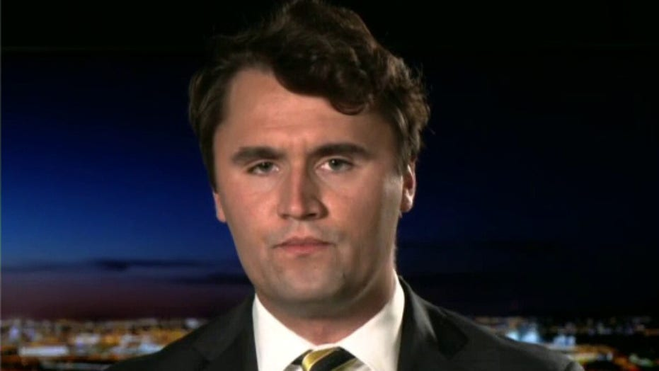 Charlie Kirk: Orwell's '1984' 'is the instruction manual' for the left; they're 'criminalizing speech'