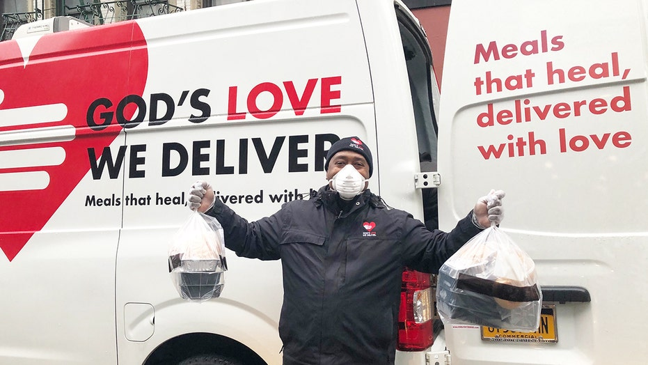 The Coronavirus won't stop God's Love from providing over 4,600 medically tailored meals to New Yorkers in need