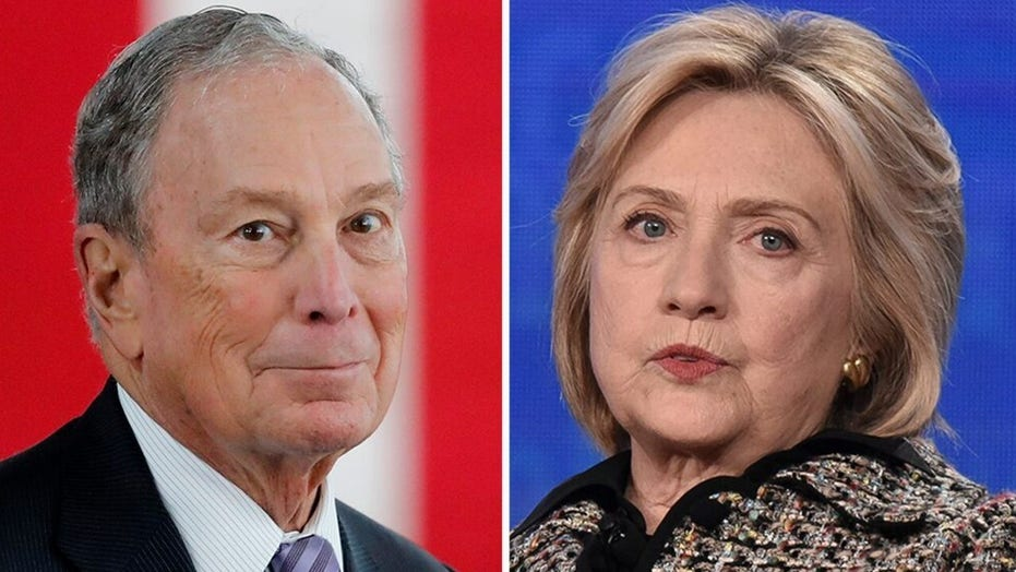 Hillary Clinton shuts down rumors she could be Michael Bloomberg's running mate