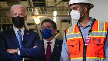 'The Five' on Biden's poll numbers, job performance