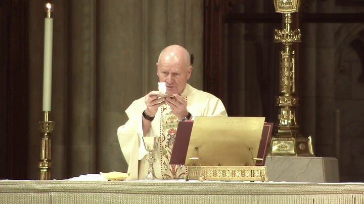Saint Patrick's Cathedral Mass: Tuesday, April 14
