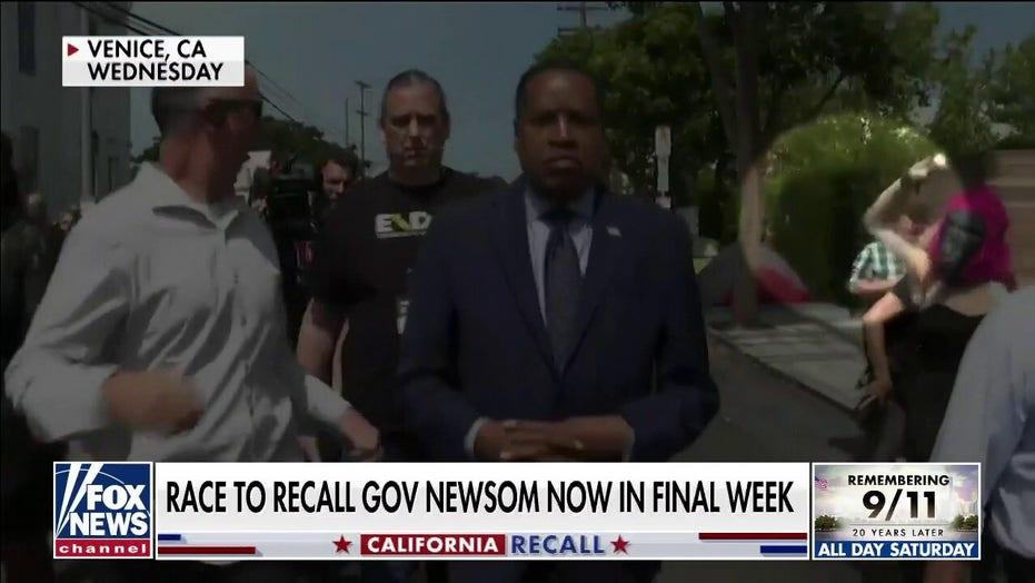California Gov. Newsom silent on 'racist' Elder egg attack