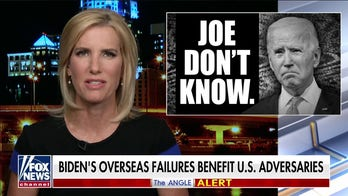 Ingraham: 'Joe don't know' but president's first foreign trip an 'unmitigated disaster'