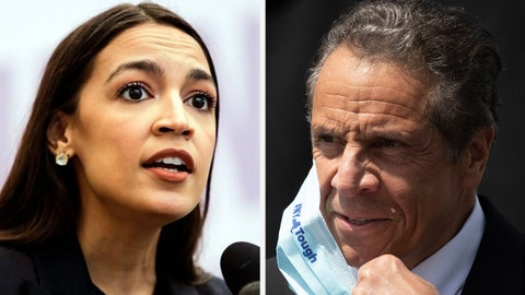 AOC, Cuomo in battle over billionaires in New York