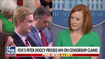 Psaki says administration is working with Facebook to limit COVID misinformation
