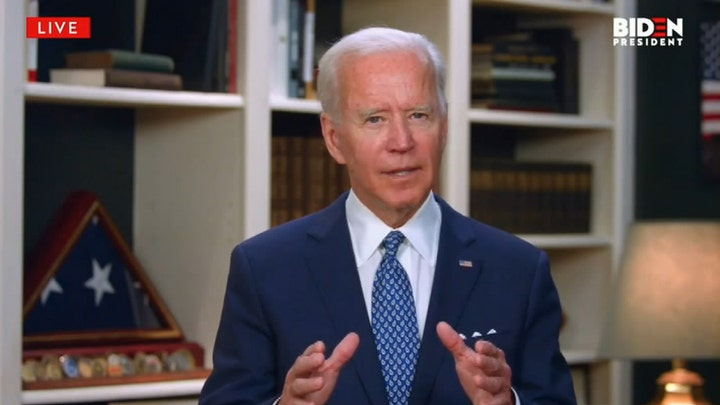 Biden: We can't hear 'I can't breathe' and do nothing