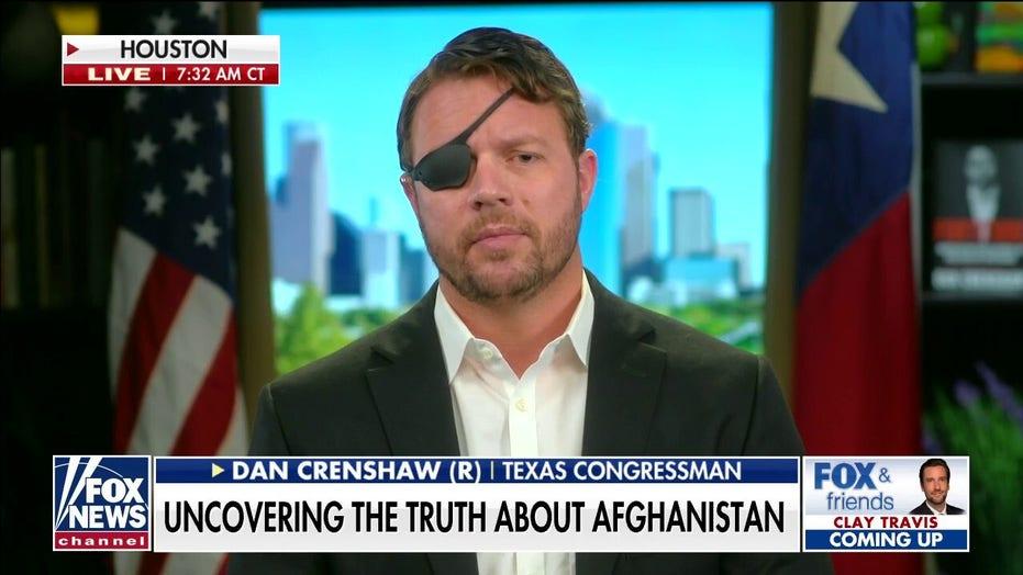 Dan Crenshaw slams Pelosi for shutting down Afghanistan bill: 'They want no accountability whatsoever'