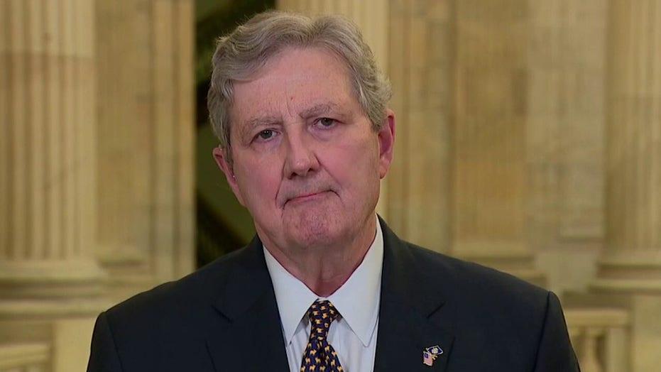 Senator John Kennedy blasts Biden administration's handling of the border crisis
