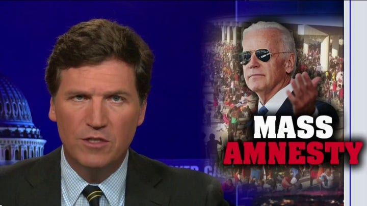 Tucker blasts Biden over immigration crisis: 'He did this on purpose'