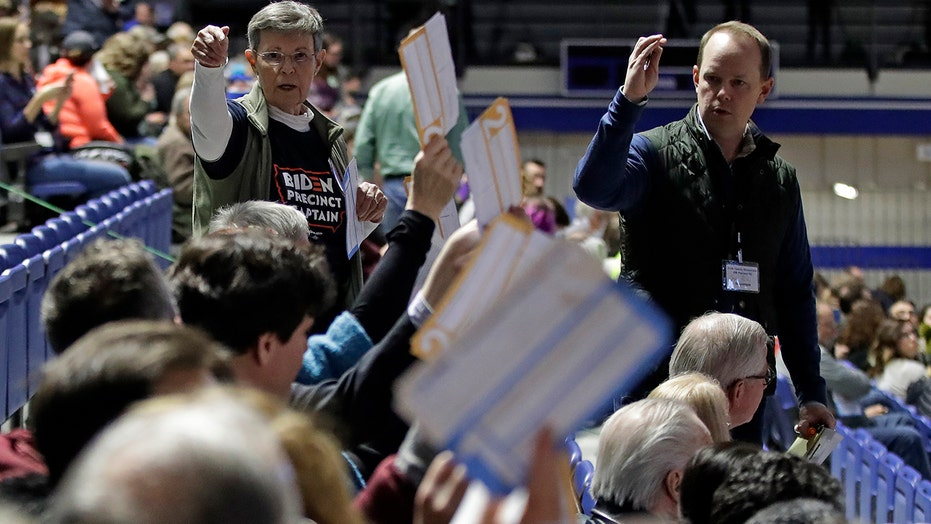 62 percent of Iowa caucus results in after delay cause by app malfunction