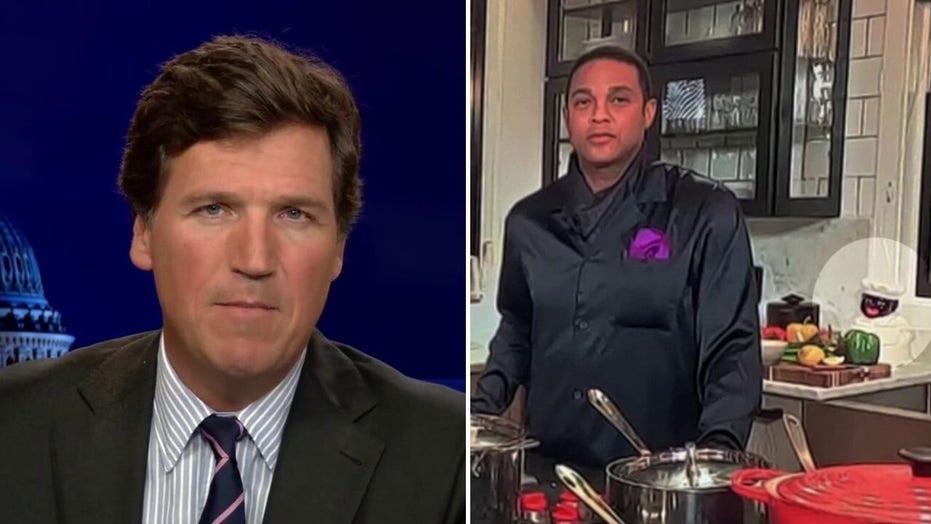 Tucker: In Don Lemon's free time he runs from diversity
