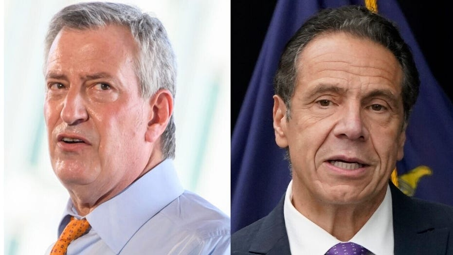 Cuomo, De Blasio are 'banking on a bailout from Biden' when instituting lockdowns: Gasparino