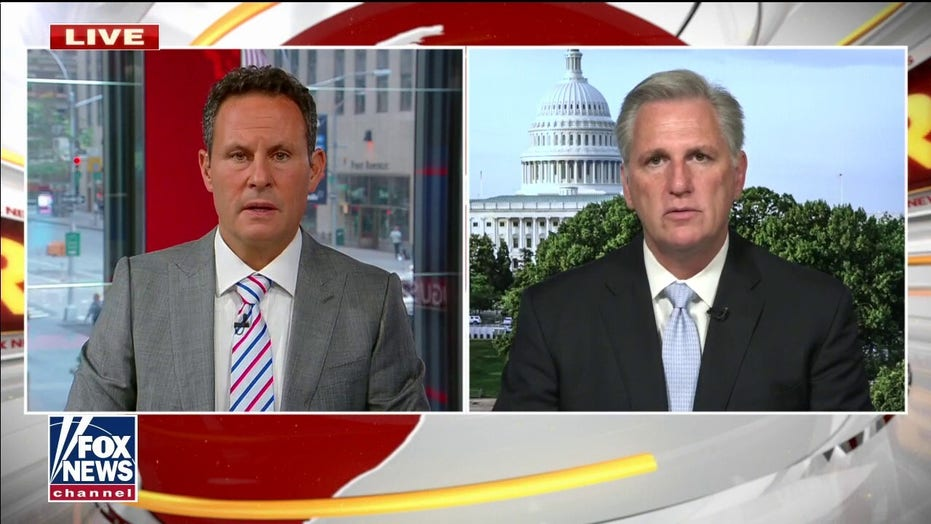 McCarthy slams Biden's Afghanistan withdrawal as 'partisan, political decision designed for a photo-op'
