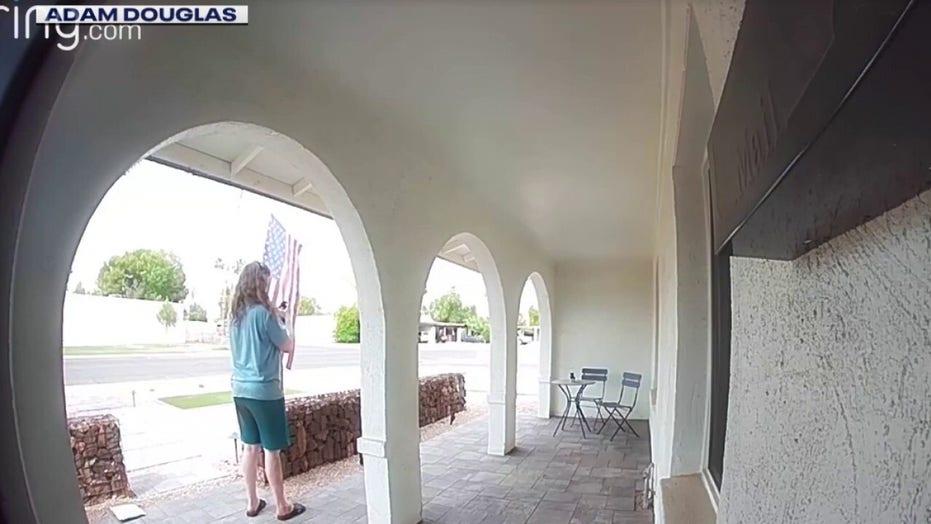 Arizona veteran's American flag set on fire outside home before Memorial Day weekend