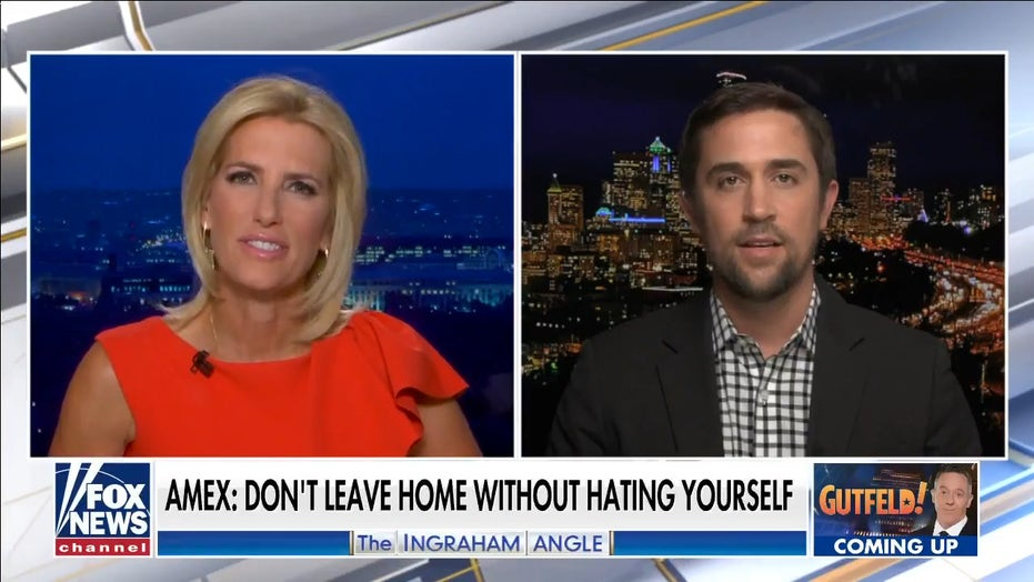 Chris Rufo exposes Amex's 'anti-racist etiquette' for employees on 'Ingraham Angle'