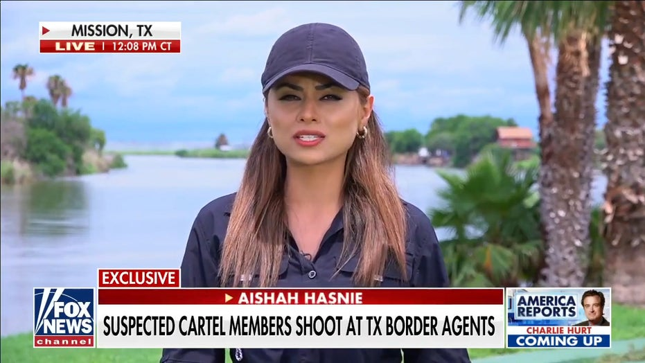 US border agents in gunfight with suspected cartel members