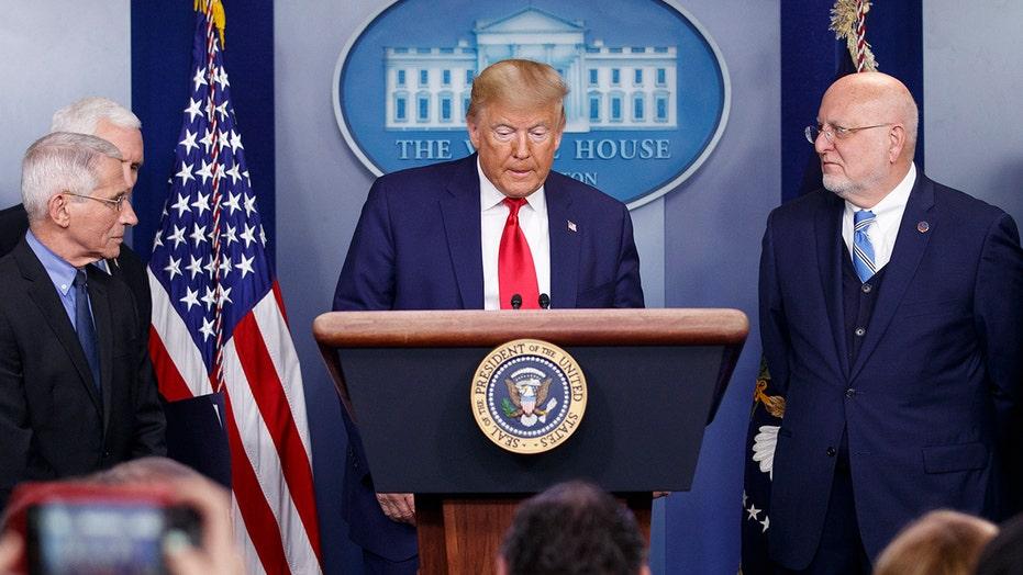 Trump: No reason to panic about coronavirus outbreak