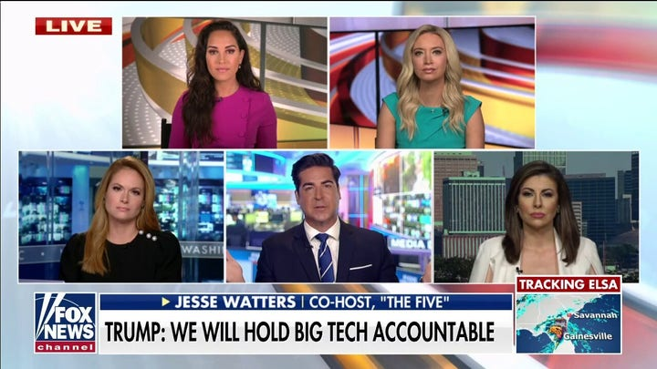 Jesse Watters on Trump's lawsuit against Big Tech: Hunter Biden, Wuhan lab stories were 'suppressed'