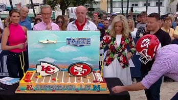 'Cake Boss' unveils giant cake for Super Bowl LIV