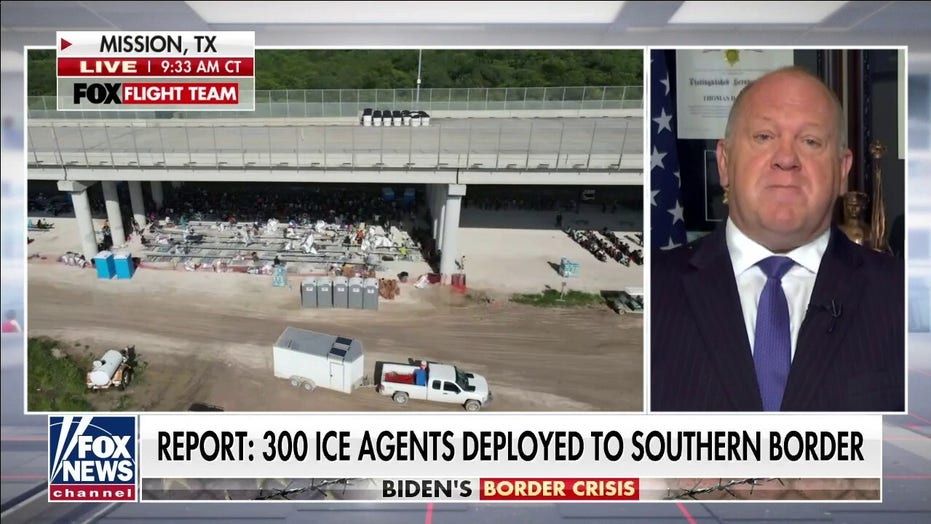 Homan: Biden admin's answer to border crisis is to speed up processing and release of migrants