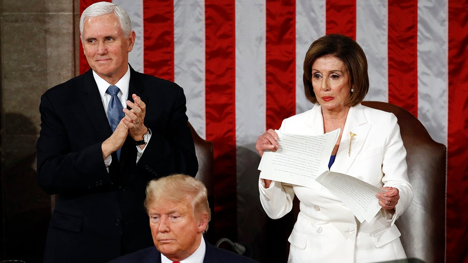 Fallout from Nancy Pelosi's decision to shred her copy of President Trump's State of the Union address