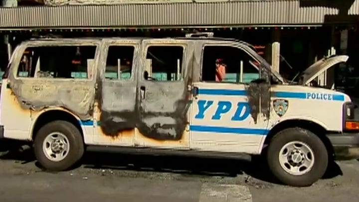 NYPD Commissioner on New York riots: 'It's a dark time'