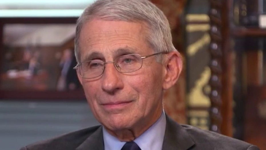 Dr. Fauci reacts to claims Trump is not following the science on COVID-19