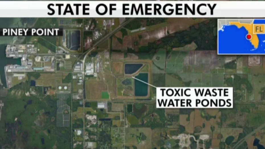 Florida officials lift evacuation order after wastewater reservoir leak flood fears ease