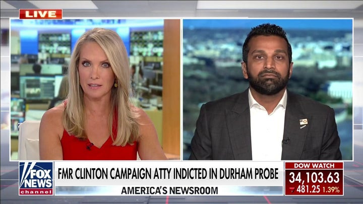 Kash Patel: Durham could lay out 'conspiracy' in probe of Clinton campaign, Trump-Russia claims
