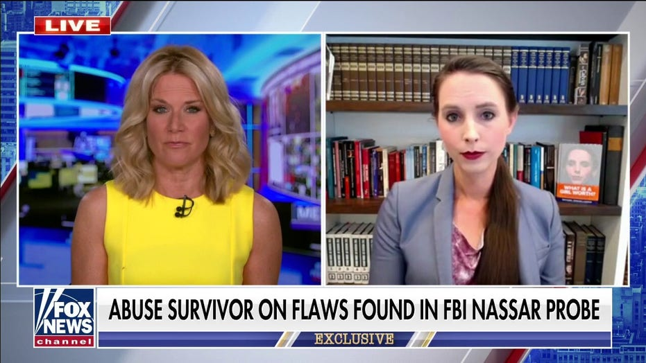 Larry Nassar accuser claims more girls could've been 'saved' if not for 'multiple errors' in FBI case
