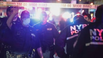 NYPD officers attacked during Brooklyn looting incident