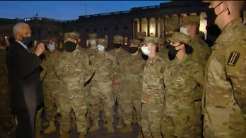 Thousands more National Guard troops arrive in DC ahead of inauguration