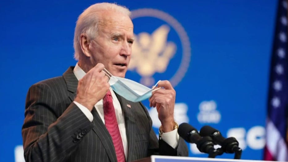 Biden hits Trump for 'falling far behind' on COVID-19 vaccine rollout