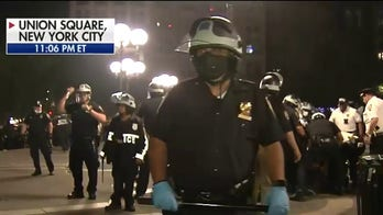 NYC protests continue for third day