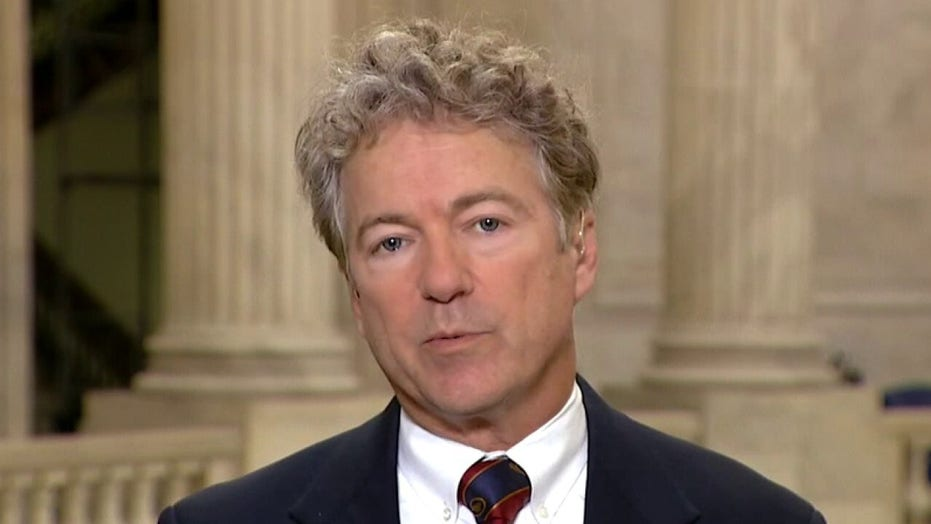 Sen. Rand Paul: 'No real evidence' lockdowns are 'changing the trajectory' of COVID-19