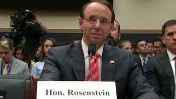 Gregg Jarrett: In Russia collusion hoax, Rod Rosenstein must be held accountable for his flagrant misconduct