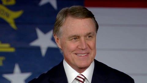 Perdue: GOP Senate is 'last line of defense' against radical liberals