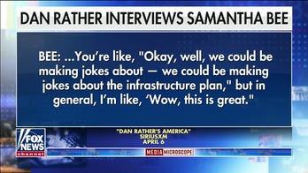 Samantha Bee lays off Biden