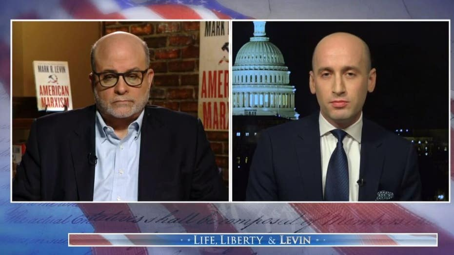 Stephen Miller slams Biden's immigration policy as reckless and immoral on 'Life, Liberty & Levin'