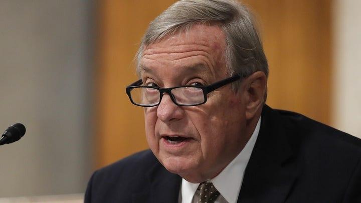その. Durbin apologizes for 'token' comment on Sen. Scott's police reform